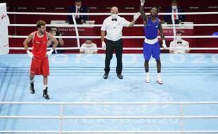 Sofiane Oumiha n'a pas pu reproduire son parcours de Rio.