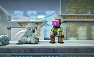 Dans « Little Big Planet 2 », le personnage du Sackboy (en vert) est customisable.