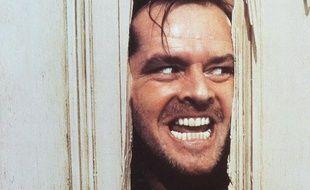 Jack Nicholson dans le film «Shining» de Stanley Kubrick basé sur le roman de Stephen King.