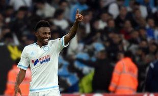 Georges-Kevin Nkoudou le 5 novembre à Marseille contre Braga en Ligue Europa