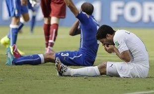 Visiblement, Giorgio Chiellini a l'épaule dure!