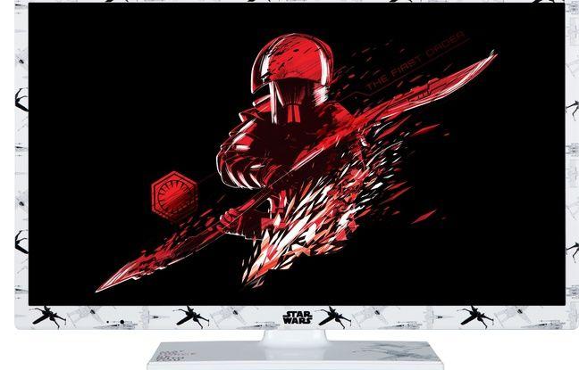 Toshiba lance un téléviseur HD sérigraphié Star Wars.