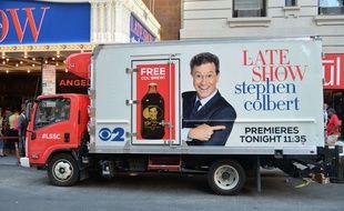 L'humoriste Stephen Colbert a succédé à David Letterman aux manettes du «Late Show», le 8 septembre 2015.