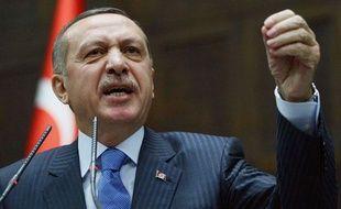 Le Premier ministre turc, Recep Tayyip Erdogan, photographié le 3 janvier 2012.
