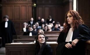 Audrey Fleurot (à dr.), dans la saison 5 de la série «Engrenages».