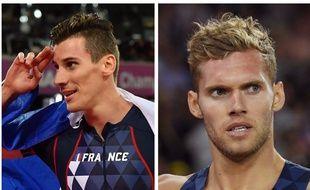 Pierre-Ambroise Bosse et Kevin Mayer, les deux nouvelles stars de l'athlétisme français.