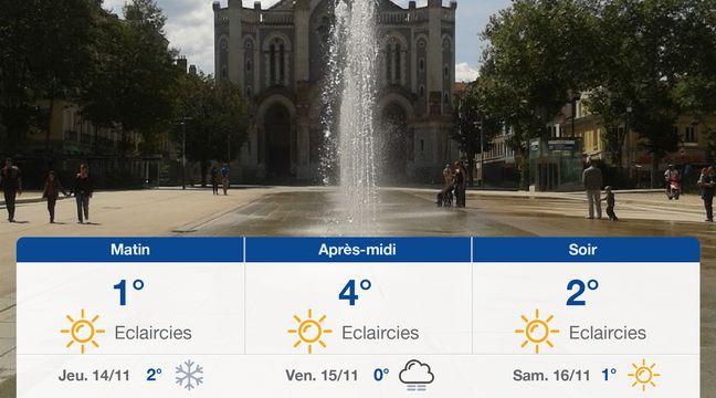 Météo Saint-Etienne: Prévisions du mercredi 13 novembre 2019 - 20minutes.fr