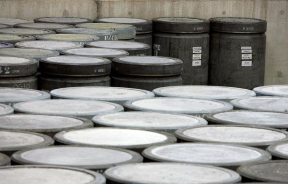 Plus de 1,3 million de mètres cubes de déchets nucléaires en tous genres étaient stockés en France fin 2010, un volume appelé à doubler d'ici 2030, selon l'inventaire publié mercredi par l'Agence nationale pour la gestion des déchets radioactifs (Andra). – Olivier Laban-Mattei afp.com