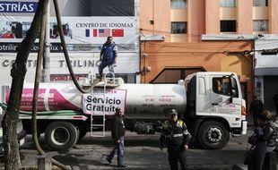 La ville de Mexico doit faire face à une coupure d'eau depuis plusieurs jours.