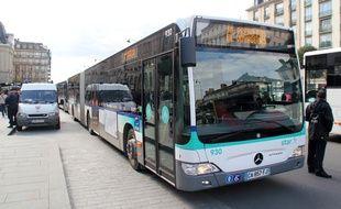 Illustration d'un bus du Star à Rennes