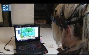 jeu vidéo controlé grace au logiciel Open-ViBE