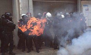 Cette photo prise par l'AFP a suscité beaucoup de réactions et d'émotion sur les réseaux sociaux.