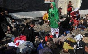 """Le prix Pulitzer dans la catégorie """"photographie breaking news"""", récompense la photo """"déchirante d'une fillette pleurant de peur, après un attentat suicide à Kaboul"""", a précisé le jury."""