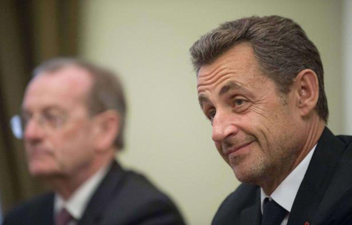 Nicolas Sarkozy, le 14 novembre 2012 à Moscou. – Natalia Kolesnikova/AP/SIPA
