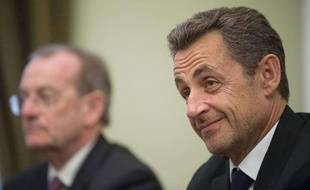 Nicolas Sarkozy, le 14 novembre 2012 à Moscou.