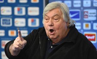 Le patron de Montpellier Louis Nicollin, le 27 janvier 2016.