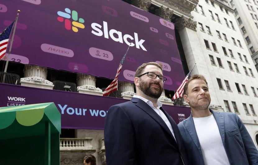 Wall Street: Slack s'envole de 50% pour ses débuts et vaut 20 milliards de dollars