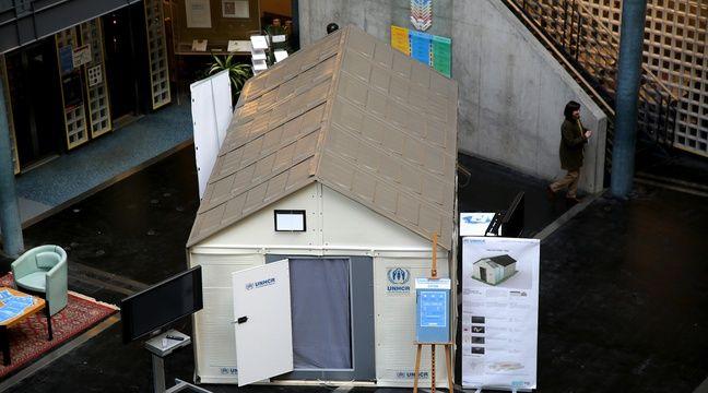 video suisse zurich renonce h berger les migrants dans des cabanes ikea facilement. Black Bedroom Furniture Sets. Home Design Ideas