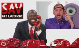 Capture d'écran du «SAV des émissions».