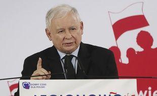 Jaroslaw Kaczynski, l'homme fort de la Pologne.