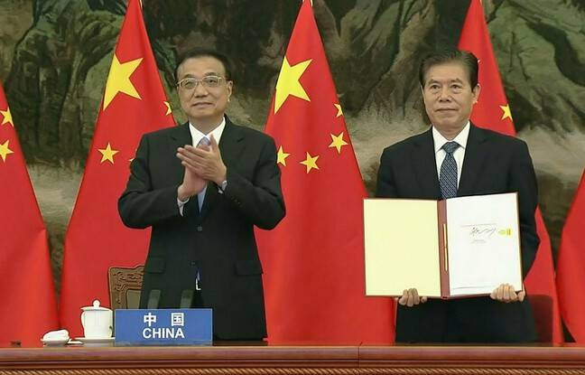 648x415 premier ministre ministre commerce chinois signent nouvel accord commercial