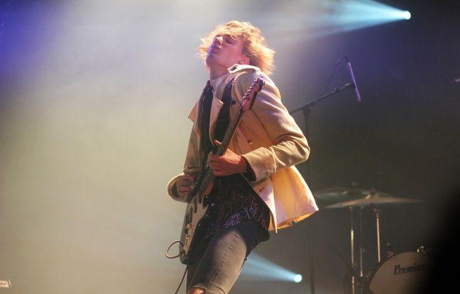 Le groupe Birth of Joy lors de leur passage aux Trans en décembre 2012.