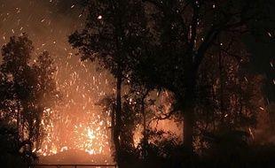 Le volcan Kilauea est rentré en eruption le 4 mai 2018 à Hawaï, entrainant l'évacuation de 1500 personnes.