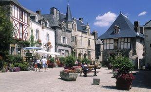 Le village de Rochefort-en-Terre est sélectionné parmi les villages préférés des Français.