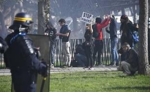 La manifestation de samedi à Nantes a dégénéré en fin de journée.