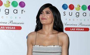 L'influenceuse Kylie Jenner à Las Vegas