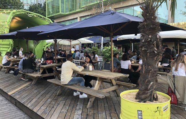 Le Wanderlust se transforme en restaurant à ciel ouvert