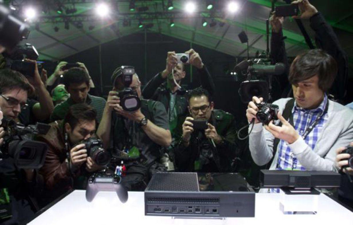 La Xbox One, présentée mardi 21 mai 2013, à Redmond. – Karen Ducey/AP/SIPA