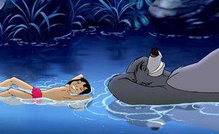 Mowgli et Baloo dans Le livre de la jungle 2