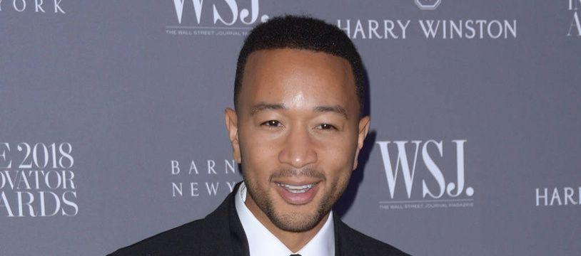 Le chanteur et acteur John Legend