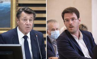 Christian Estrosi et Nicolas Mayer-Rossignol, les maires de Nice et de Rouen