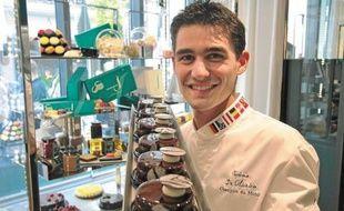« J'ai toujours adoré le côté créatif et quasi architectural du dessert », dixit Jérôme de Oliveira.