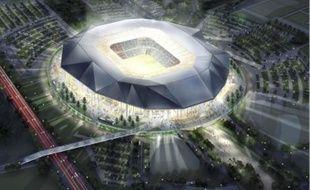 Le Grand Stade,équipé de 60 000 places, devrait être construit à Décines.