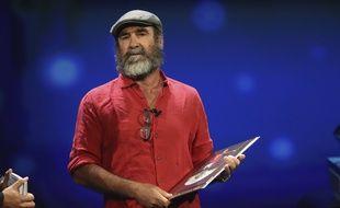 Eric Cantona au tirage au sort de la Ligue des champions