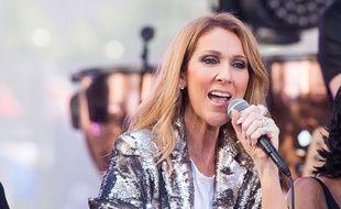 Céline Dion à New York, le 22 juillet 2016