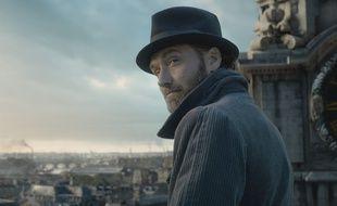 Jude Law dans Les Animaux Fantastiques: Les Crimes de Grindelwald