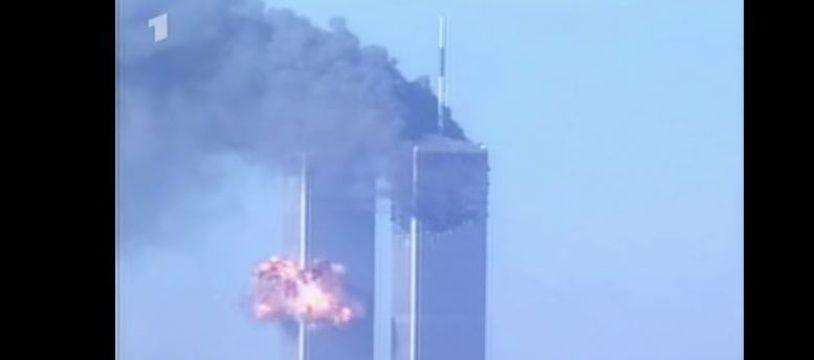 Images de l'attentat du World Trade Center de New-York en 2001.