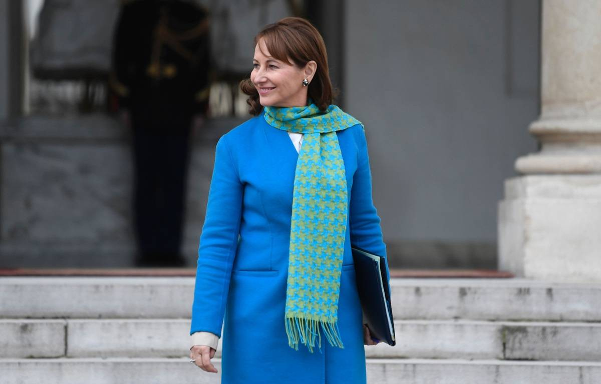 Segolène Royal, le 24 février 2017 à Paris. / AFP PHOTO / STEPHANE DE SAKUTIN – AFP
