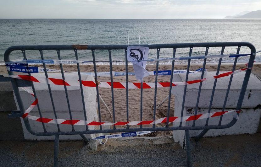 Côte d'Azur : Attention à la forte houle, le littoral en vigilance « vague submersion marine »