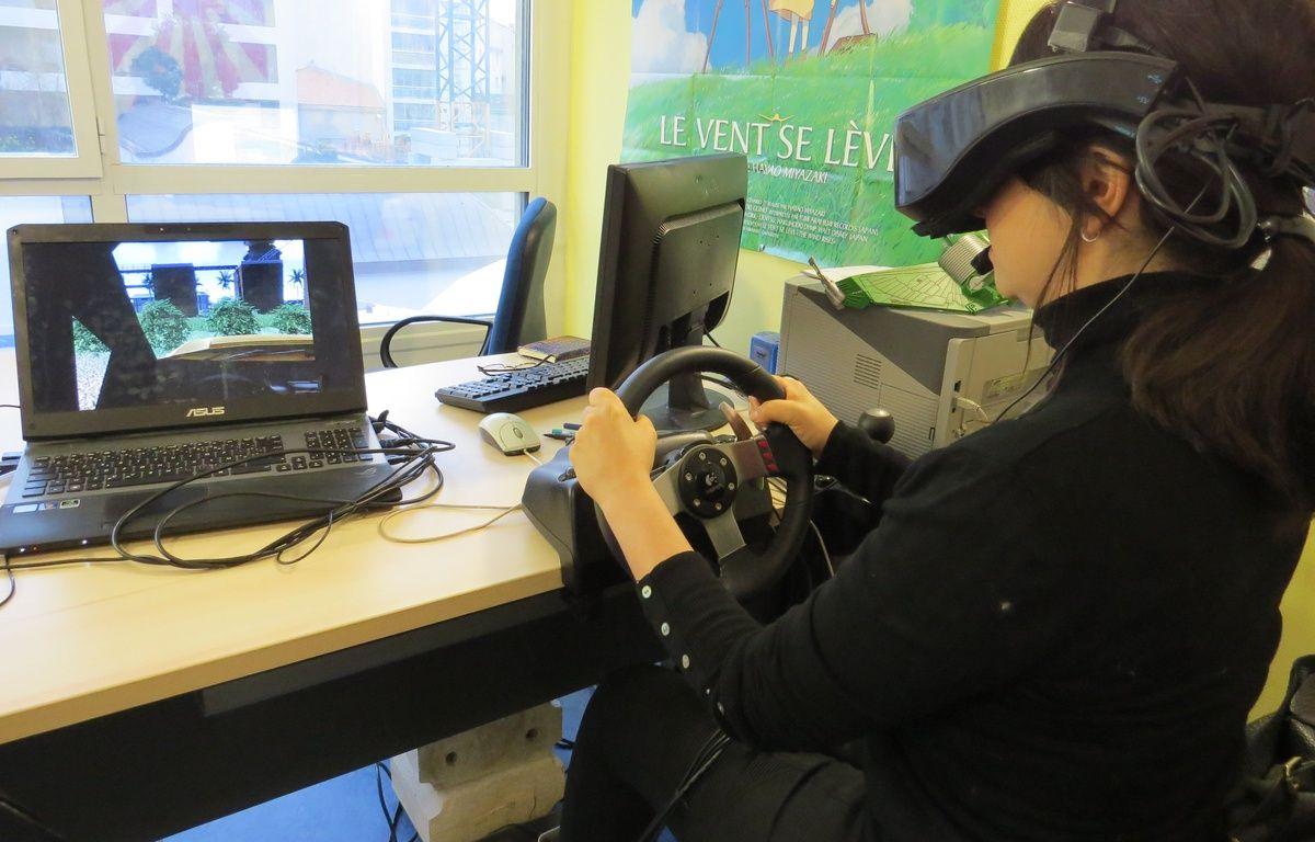 Marseille, la thérapie par la réalité virtuelle. – MickaÎl Penverne / 20 Minutes