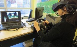 Marseille, la thérapie par la réalité virtuelle.
