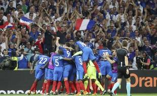 L'équipe de France à l'Euro 2016 (AP Photo/Petr David Josek)