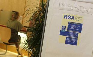 Illustration autour d'une réunion de présentation du dispositif RSA.