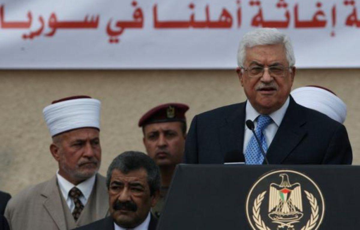 """L'Autorité palestinienne a averti samedi que l'impasse dans les discussions de paix avec Israël menaçait une solution à deux Etats et se solderait par un Etat unique régi par les principes de l'""""apartheid"""". – Abbas Momani afp.com"""
