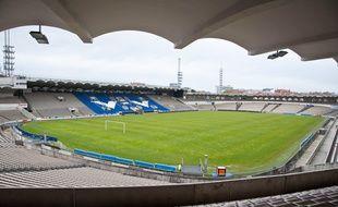 Bordeaux, 17 avril 2012. - Le stade Chaban-Demas, autrefois appele Parc Lescure, inaugure en 1938. - Photo : Sebastien Ortola