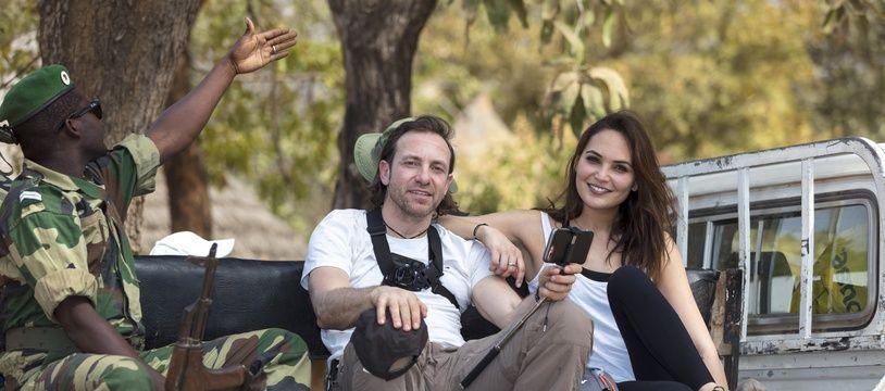 Philippe Candeloro et Valérie Bègue dans le deuxième numéro de «Perdus au milieu de nulle-part» (W9).